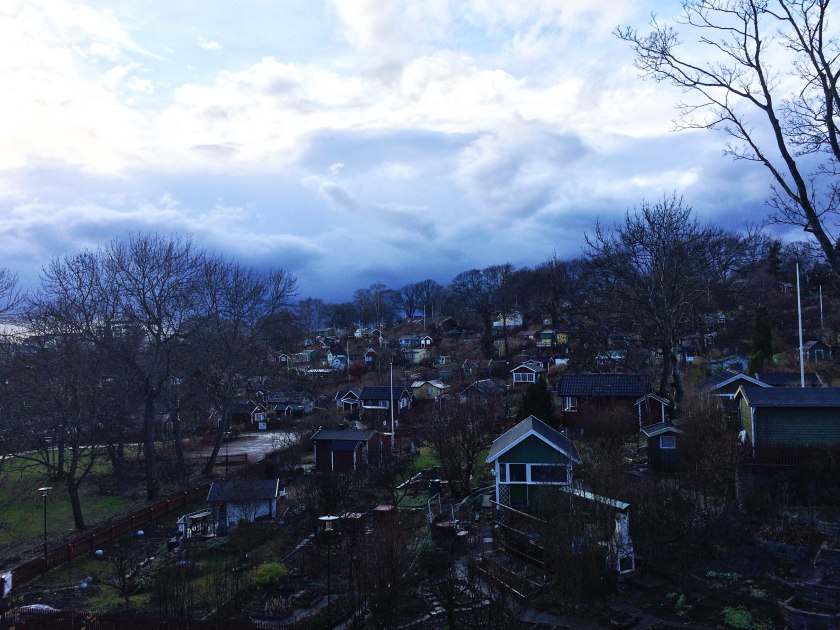 Houses on hill 2
