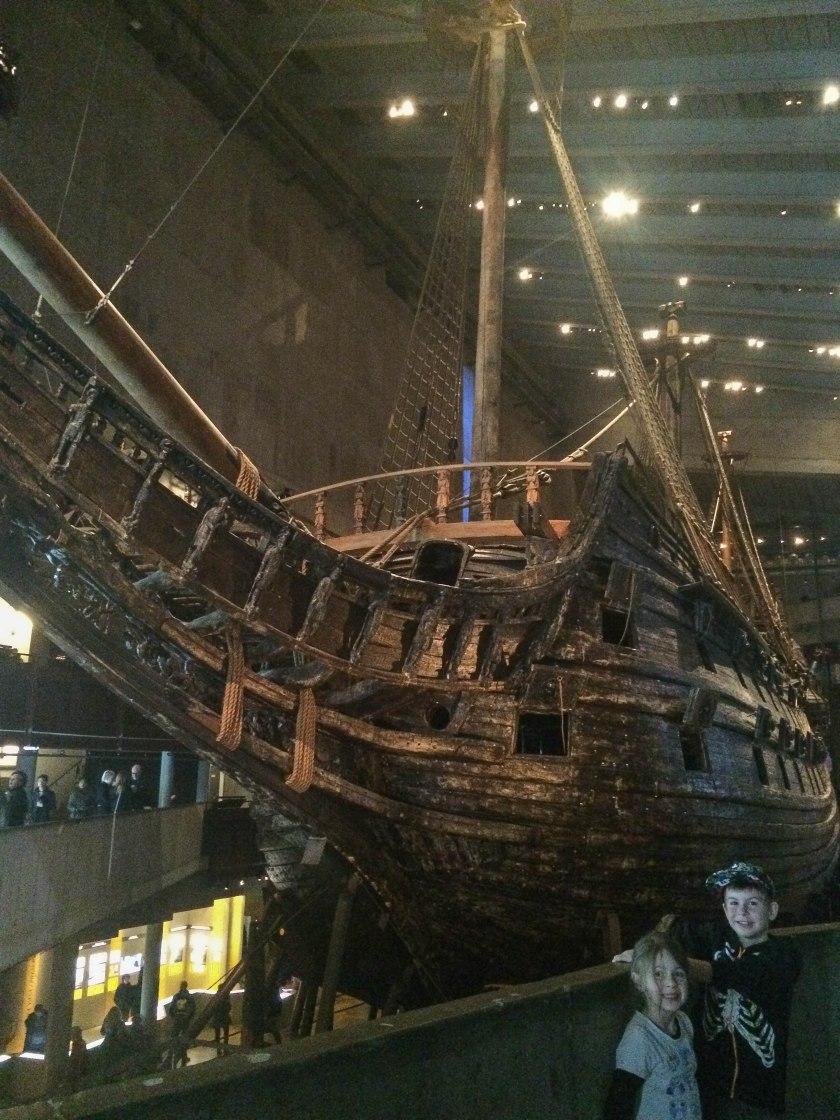 Vasa Museum boat 1