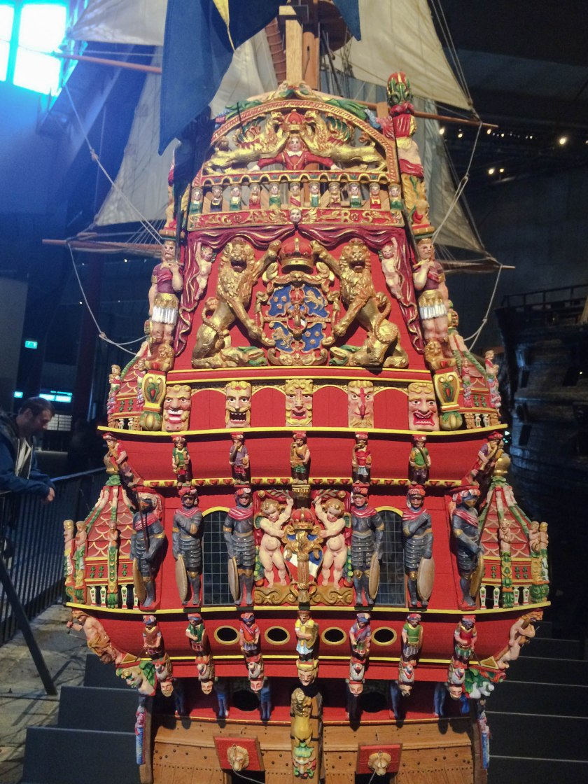 Vasa original painted back