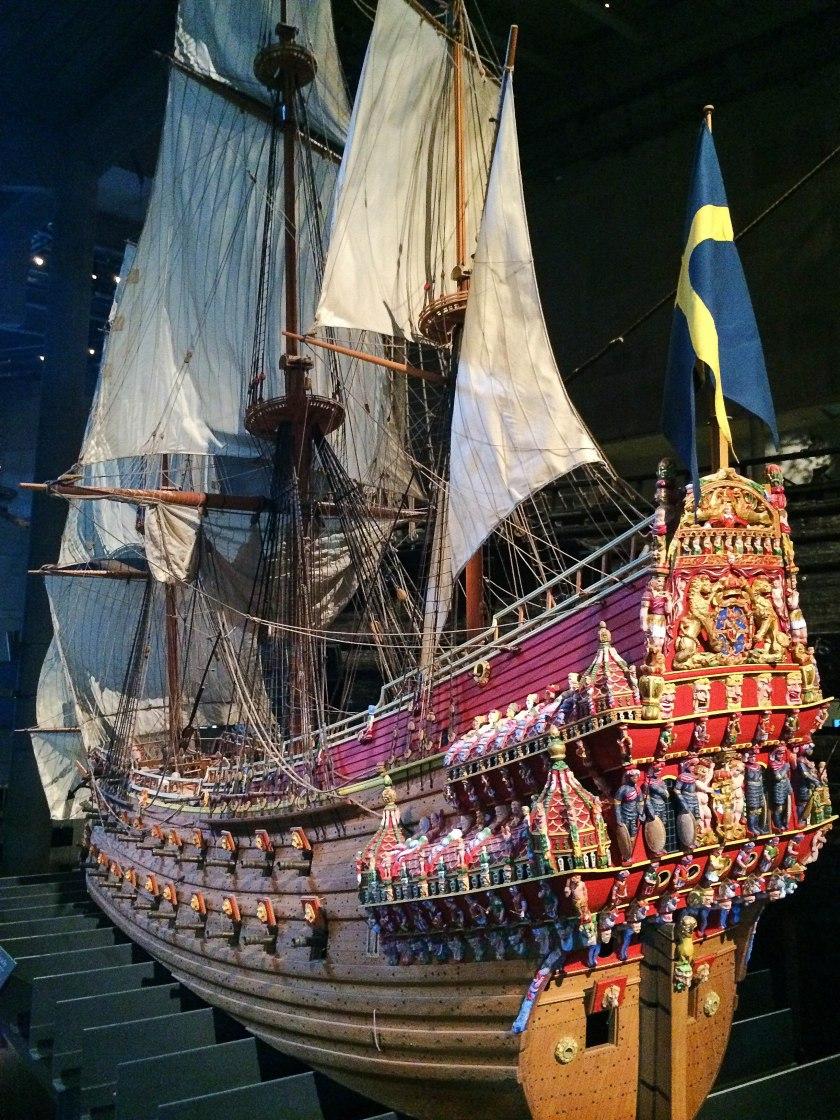 Vasa boat model