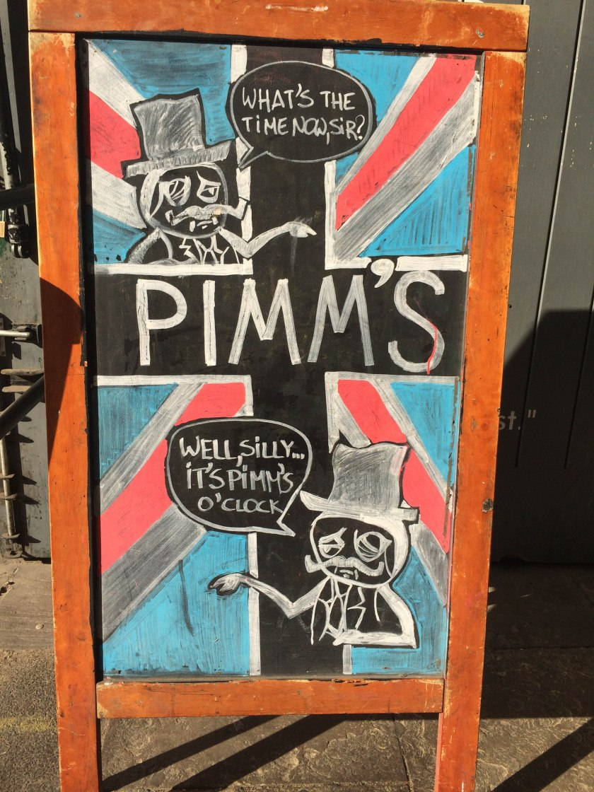 pimms sign