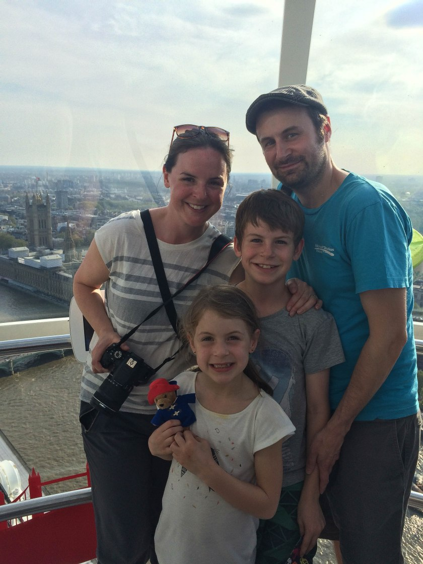 family on london eye