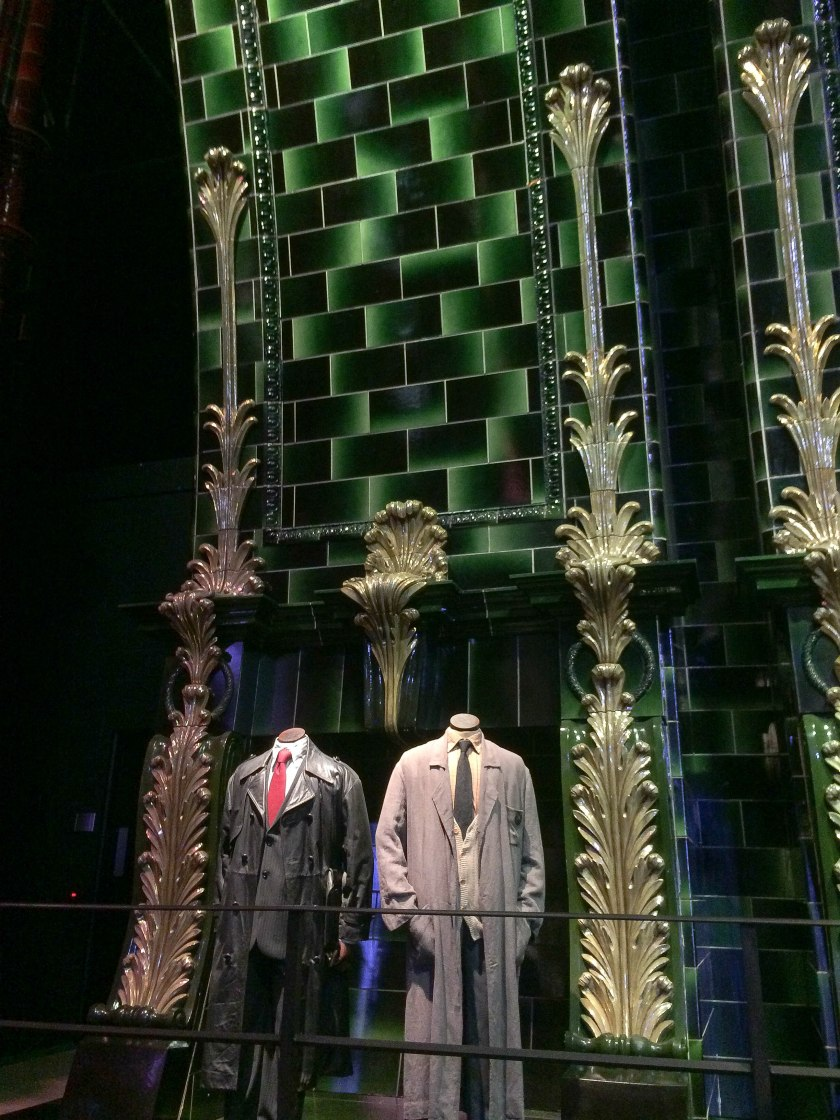 ministry of magic and harry/ron's disguises