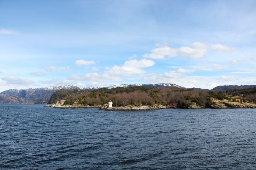 fjord lighthouse