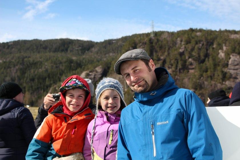 derek and kids fjord