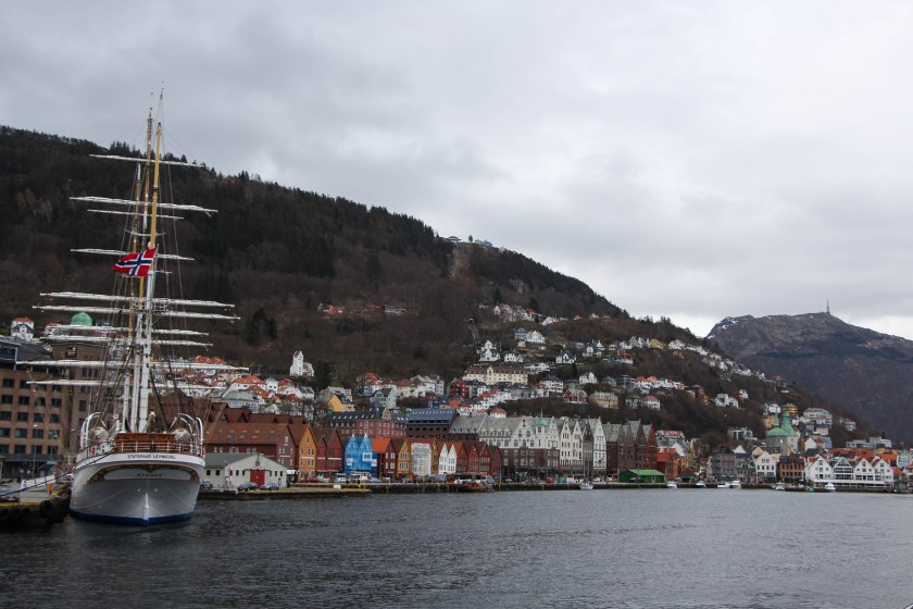 bryggen on our way back to the harbour