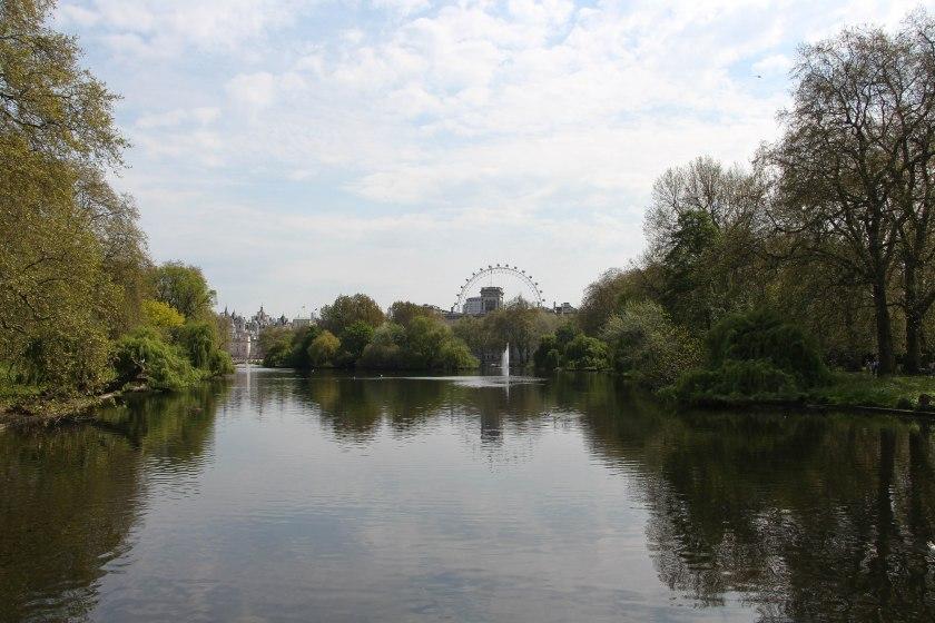 st james pond reflection