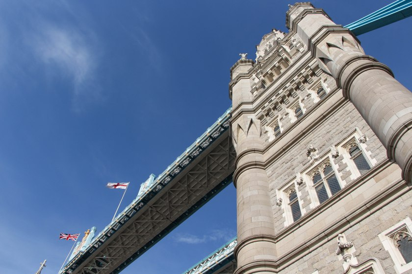 tower bridge angle