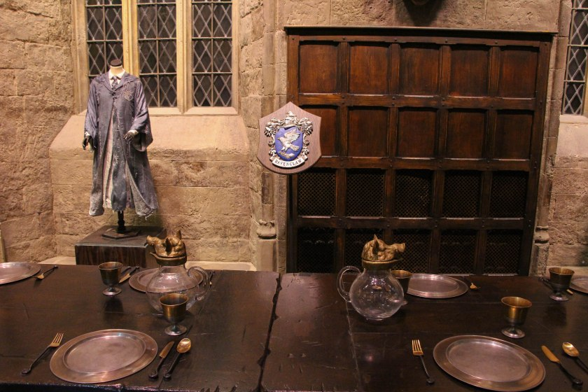 ravenclaw table and moaning myrtle