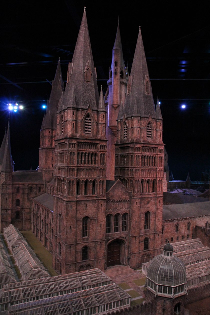 hogwarts model towers