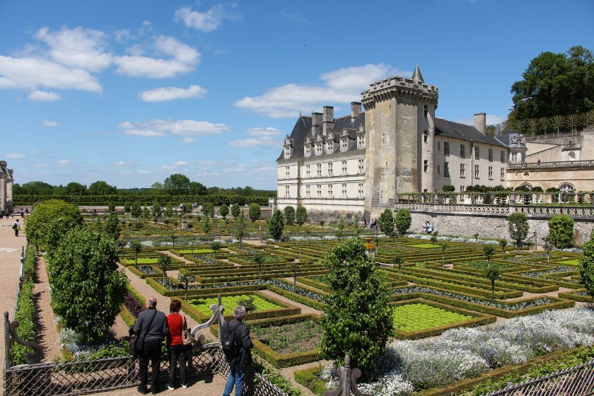 chateau villandry with gardens