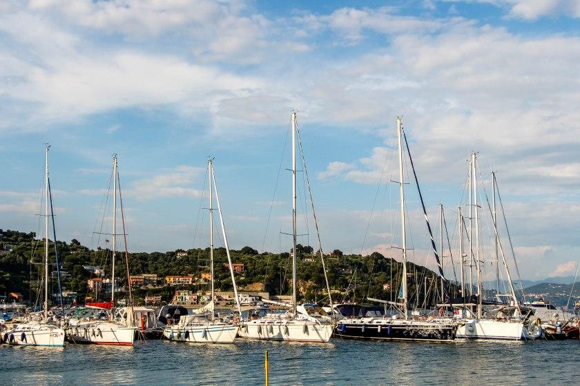 portovenere sailboats