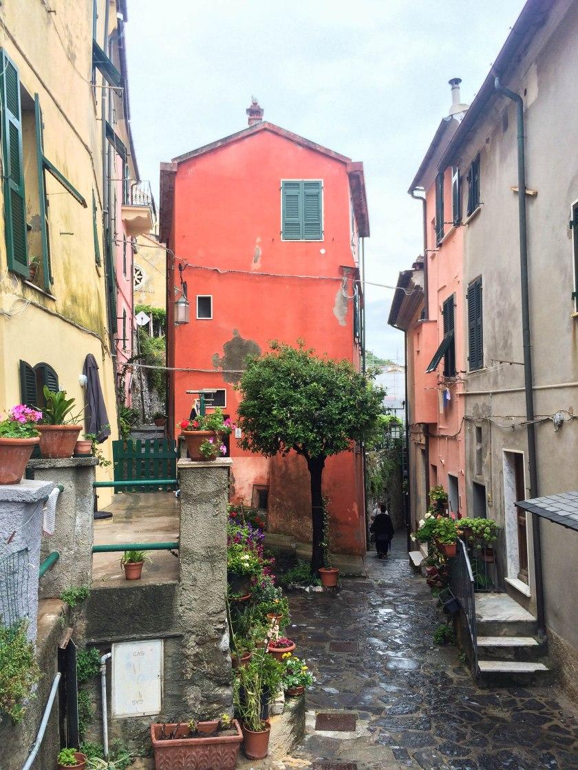 portovenere back alley