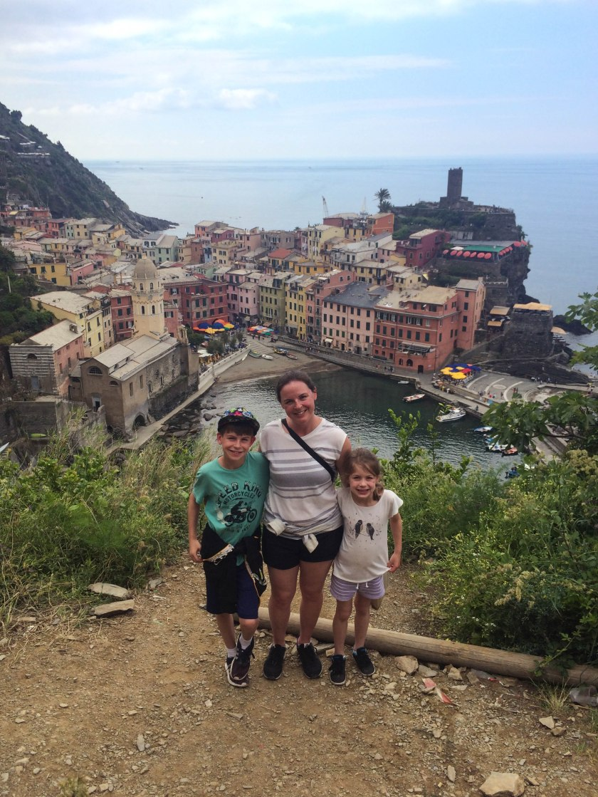 me+kids vernazza hike
