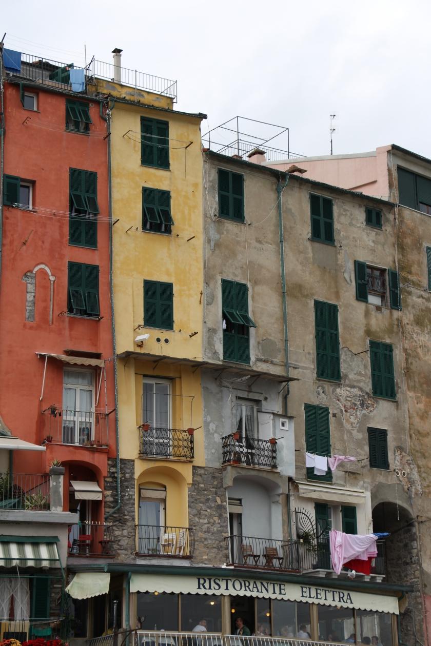 buildings closeup portovenere