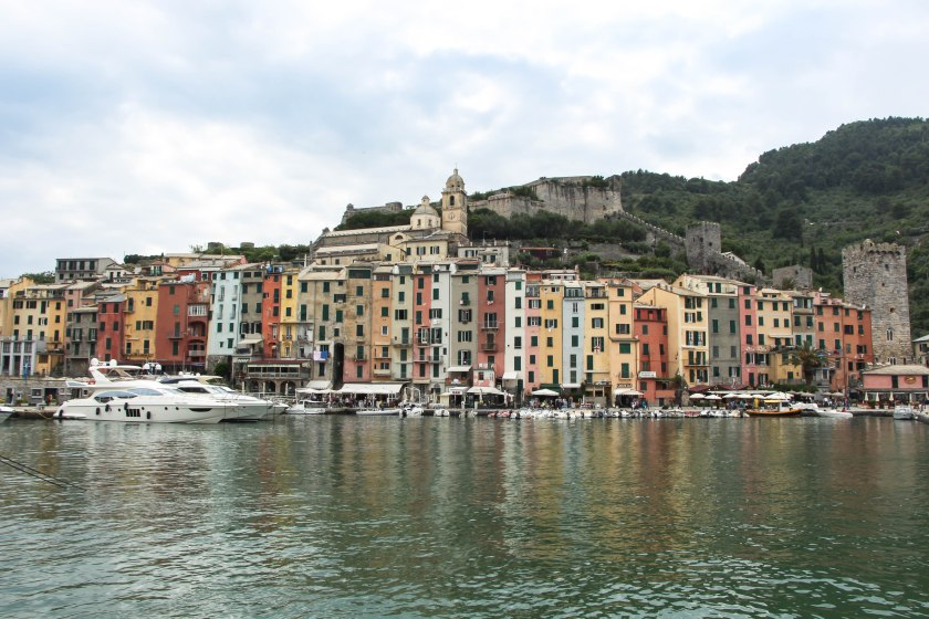 portovenere from the water (en route to cinque terre)