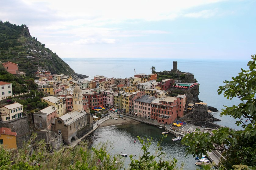 Vernazza ubiquitous shot from above